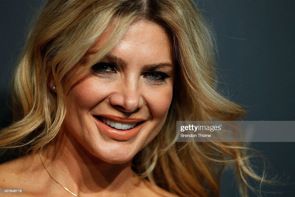 Natalie Bassingthwaighte poses at WHO's sexiest people party 2014 at Fox Studios on October 22, 2014 in Sydney, Australia.