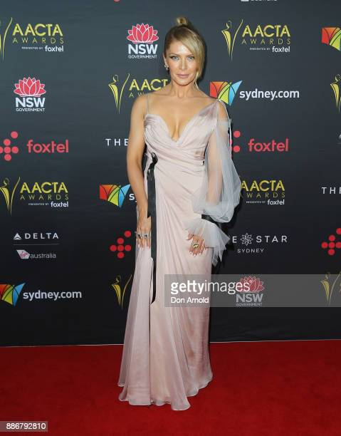 Natalie Bassingthwaighte poses during the 7th AACTA Awards at The Star on December 6 2017 in Sydney Australia