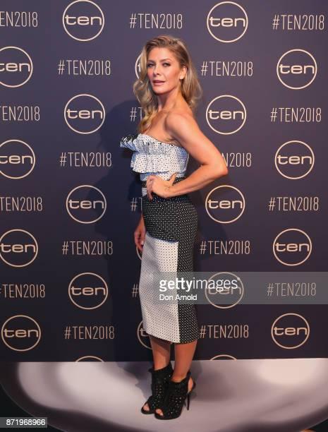 Natalie Bassingthwaighte poses during the Network Ten 2018 Upfronts on November 9, 2017 in Sydney, Australia.