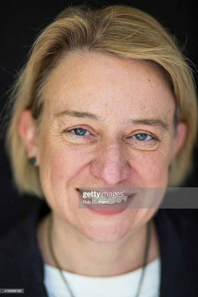 The Green Party's Natalie Bennett Unveils Party Leader Portraits