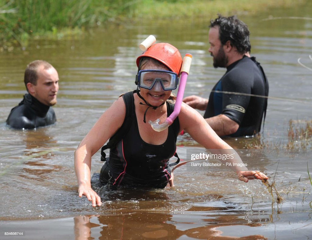 World Mountain Bike Bog Snorkelling Championships Pictures Getty