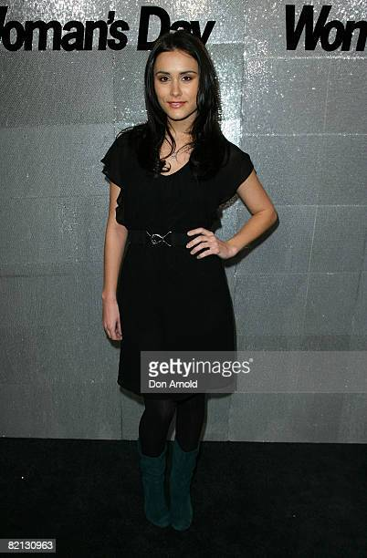 Natalie Blair attends the Women's Day 60th Anniversary Celebrations at the Glass Brasserie on July 31 2008 in Sydney Australia