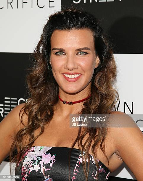 Natalie Burn attends the premiere of Bleecker Street Media's 'Pawn Sacrifice' held at Harmony Gold Theatre on September 8 2015 in West Hollywood...