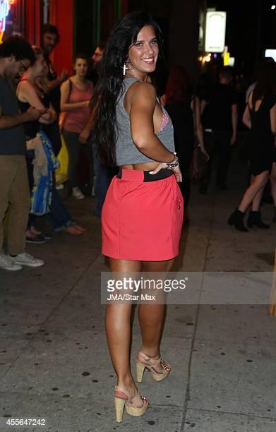 Natalie Burn is seen on September 17 2014 in Los Angeles California