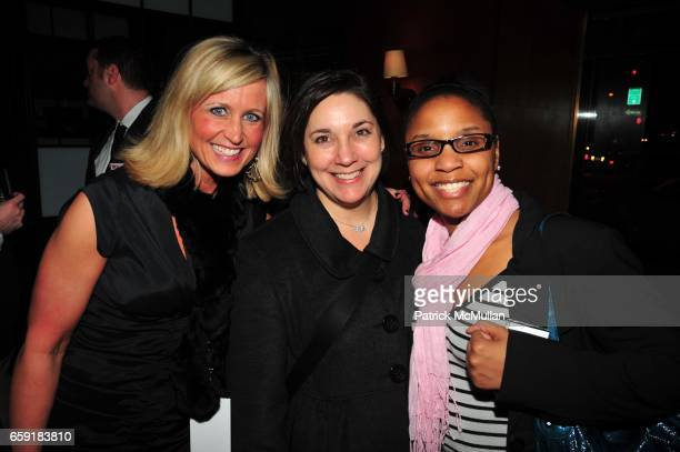 Natalie Bushaw Amy Kule and Yadira Harrison attend DELTA SKY Magazine launch party at Whiskey Park on February 23 2009 in New York City
