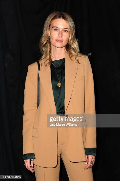 Natalie Cantell attends the Kate Sylvester show during New Zealand Fashion Week 2019 at Auckland Town Hall on August 26 2019 in Auckland New Zealand