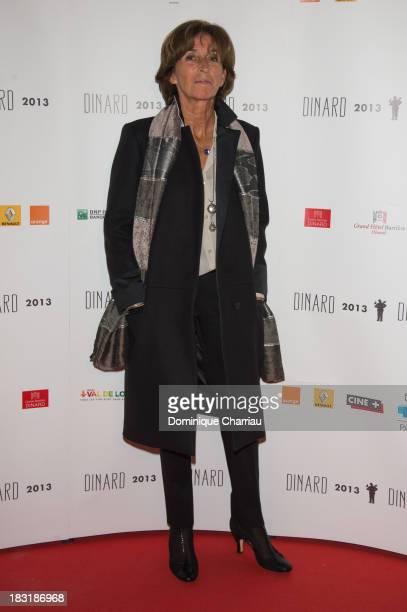Natalie Carter attends the Dinard British film festival closing ceremony on October 5 2013 in Dinard France