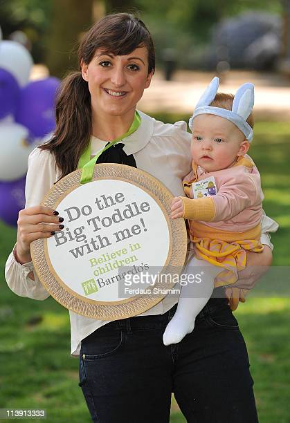 Natalie Cassidy and daughter Eliza launch Barnardo's Big Toddle 2011 at Battersea Park Children's Zoo on May 10, 2011 in London, England.