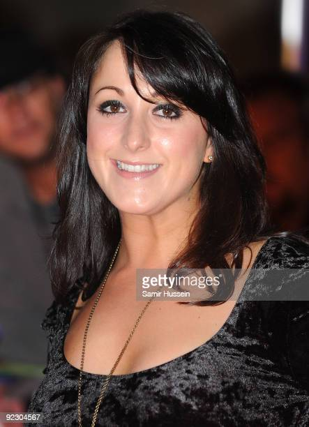 Natalie Cassidy arrives for the Daily Mirror's Pride Of Britain Awards 2009 at the Grosvenor House Hotel on October 5, 2009 in London, England.