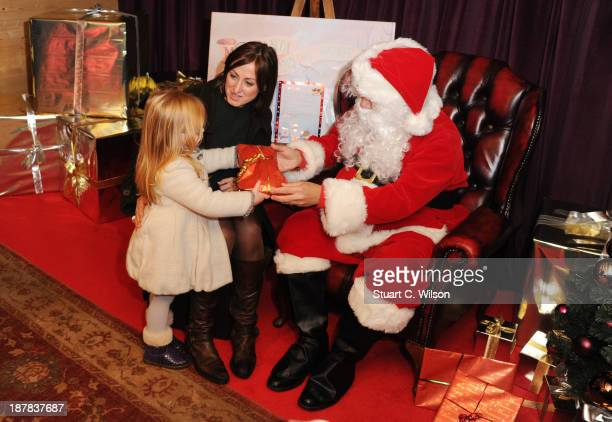 Natalie Cassidy attend a photocall to launch the Meet Santa Experience at ZSL London Zoo on November 05, 2013 in London, England.