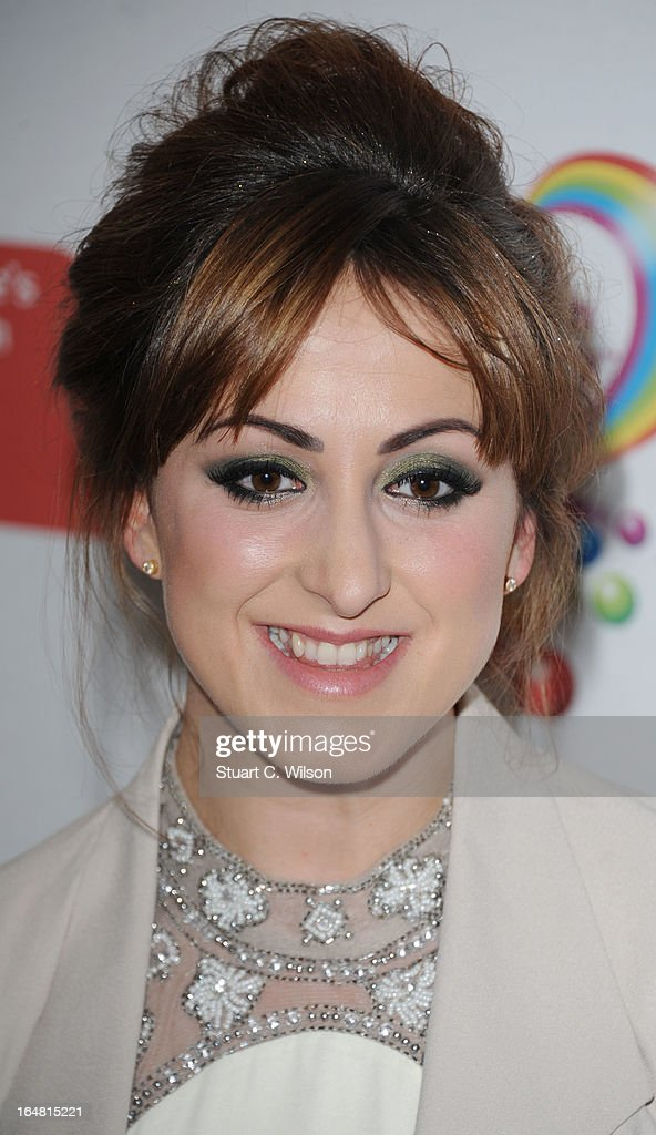 Natalie Cassidy attends a fundraising event in aid of The Health Lottery hosted by Simon Cowell at Claridges Hotel on March 28, 2013 in London, England.