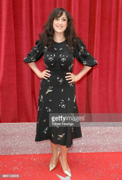 Natalie Cassidy attends the British Soap Awards 2018 at Hackney Empire on June 2, 2018 in London, England.