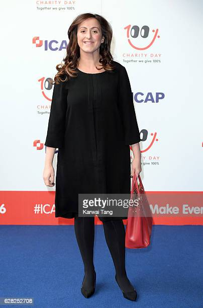 Natalie Cassidy attends the ICAP's 24th annual charity trading day in aid of Sentebale at ICAP on December 7, 2016 in London, England. The Sentebale...