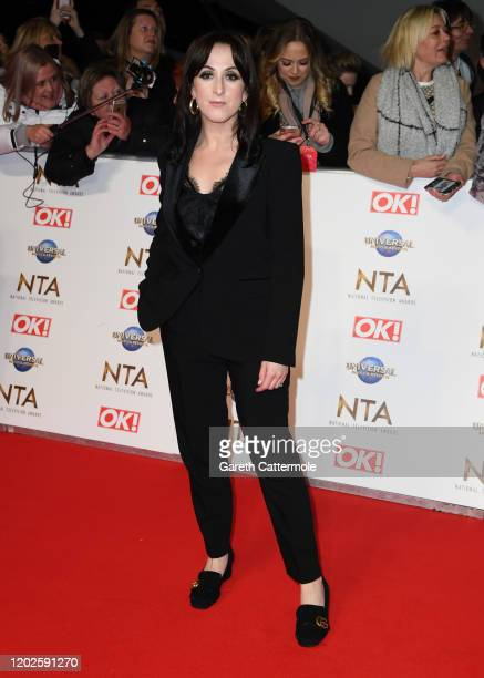 Natalie Cassidy attends the National Television Awards 2020 at The O2 Arena on January 28, 2020 in London, England.