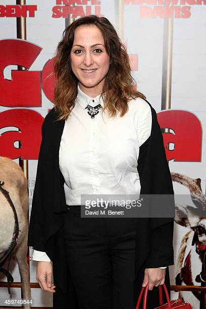 """Natalie Cassidy attends the UK Premiere of """"Get Santa"""" at Vue West End on November 30, 2014 in London, England."""
