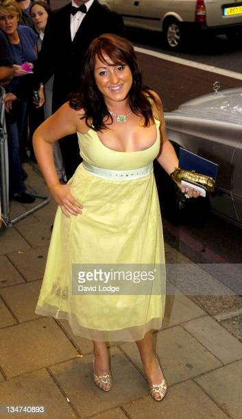 Natalie Cassidy during 2005 TV Quick & TV Choice Awards - Arrivals at The Dorchester in London, Great Britain.