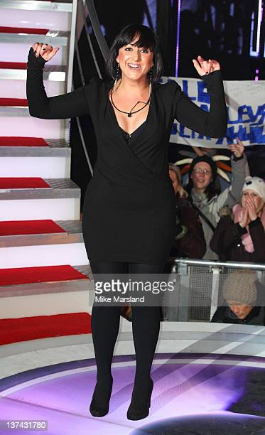 Natalie Cassidy is the fifth person to get evicted from Celebrity Big Brother at Elstree Studios on January 20, 2012 in Borehamwood, England.