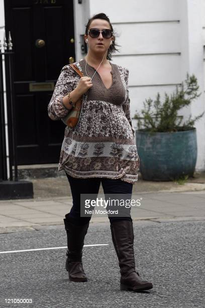Natalie Cassidy takes a trip to her local Supermarket on September 1, 2009 in London, England.