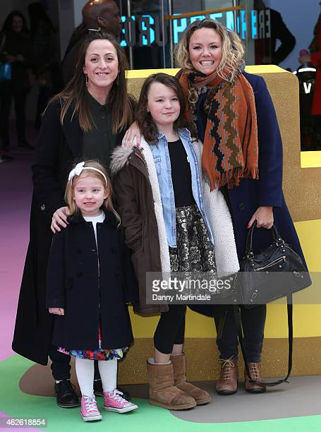 Natalie Cassidy with her daughter Eliza Cottrell and Charlie Brooks with her daughter Kiki BrooksTruman attend the premeire of 'Peppa Pig The Golden...