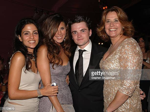 Natalie Ceroc, Jamie-Lynn Sigler, Robert Iler and Lorraine Bracco attend the HBO Post Emmy Party held at The Plaza at the Pacific Design Center on...