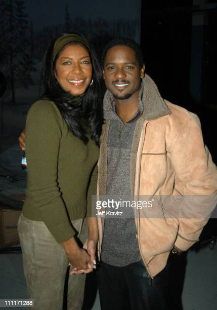 """Natalie Cole and Blair Underwood during Nick at Nite Celebrates the Holiday Season with """"The Nick at Nite Holiday Special"""" Airing on Friday, Nov. 28..."""