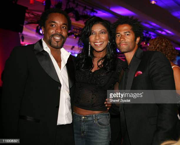 Natalie Cole and Eric Benet during Radio One's 25th Anniversary Awards Dinner Gala at JW Marriot in Washington DC United States
