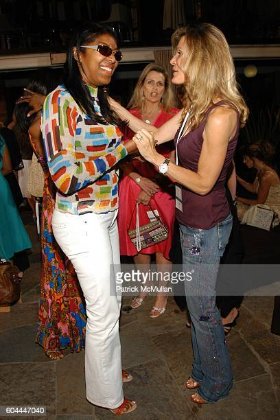 Natalie Cole and Lynn Palmer attend QVC Cynthia Garrett celebrate Debut of Cynthia Garrett's Love Conquers All Jewelery Collection at Roosevelt Hotel...