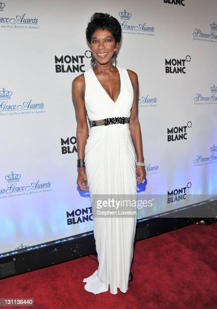 Natalie Cole attends Princess Grace Awards Gala at Cipriani 42nd Street on November 1 2011 in New York City