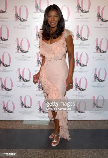 """Natalie Cole during 10th Annual QVC Presents """"FFANY Shoes On Sale"""" at The American Museum of Natural History in New York City, New York, United..."""