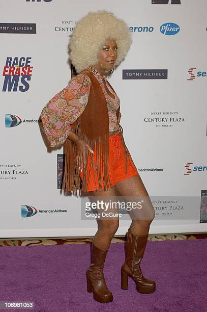 Natalie Cole during 13th Annual Race to Erase MS Sponsored by Nancy Davis and Tommy Hilfiger - Arrivals at Hyatt Regency Century Plaza in Century...