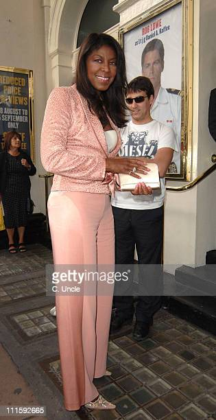 Natalie Cole during A Few Good Men West End Press Night at Theatre Royal in London United Kingdom