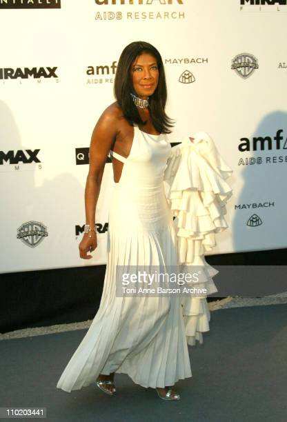 """Natalie Cole during amfAR's """"Cinema Against AIDS Cannes"""" Benefit Sponsored by Miramax and Quintessentially - Arrivals at Moulin De Mougins in Cannes,..."""