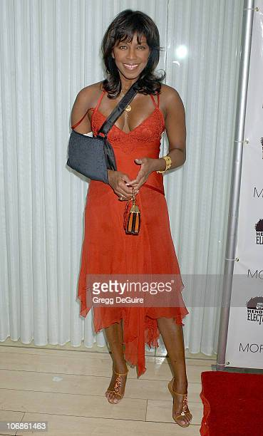 Natalie Cole during Los Angeles Confidential Magazine's PreOscar Party in Association with Hendrix Electric and The Morgan's Hotel Group Arrivals at...