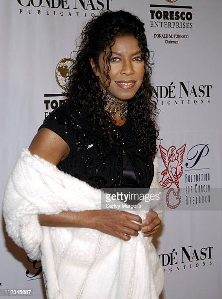 Natalie Cole during The GP Foundation for Cancer Research 4th Annual Angel Ball at Marriott Marquis in New York City New York United States