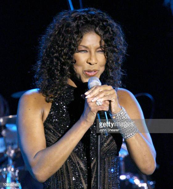 Natalie Cole during UNICEF Snowflake Ball Honoring Leslie Moonves and Trudie Styler Presented by Baccarat Show November 30 2005 at Regent Beverly...