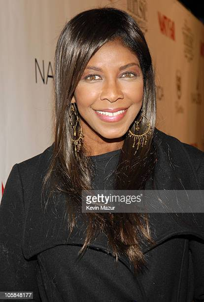 Natalie Cole during Vanity Fair's Sixth Annual Amped Concert - Red Carpet at Boulevard3 in Hollywood, California, United States.