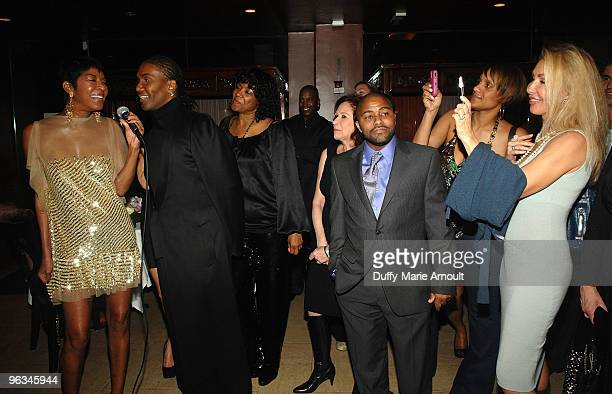 Natalie Cole Norwood Young Robert Yancy and Linda Thompson attend Natalie Cole's 60th Birthday Party on February 1 2010 in Beverly Hills California