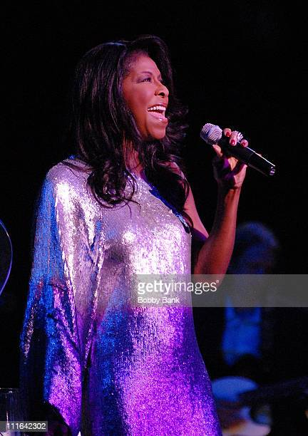 Natalie Cole performs at the Neil Sedaka Celebrates 50 Years of Hits at Avery Fisher Hall on October 26, 2007 in New York City.