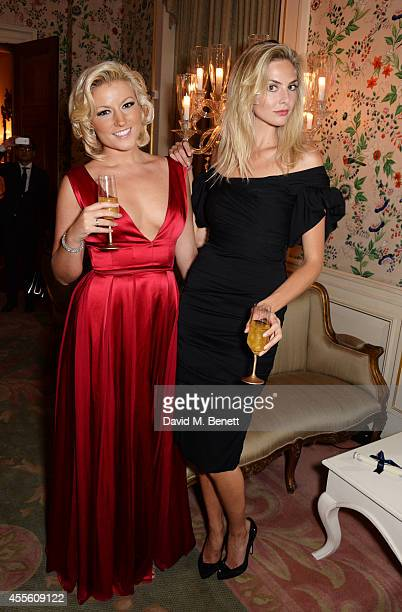 Natalie Coyle and Tamsin Egerton attend JOHNNIE WALKER BLUE LABEL Presents SYMPHONY IN BLUE A Journey To The Centre of The Glass on September 17 2014...