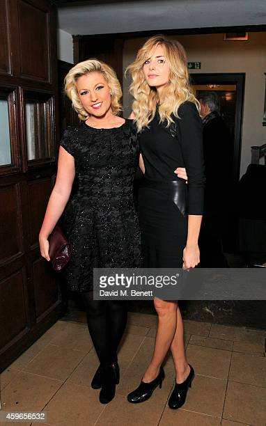 Natalie Coyle and Tamsin Eggerton attend the Fayre of St James Christmas Concert presented by Quintessentially Foundation in aid of Rays of Sunshine...
