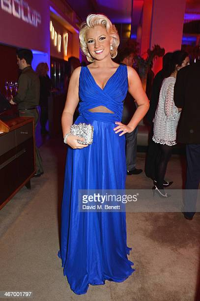 Natalie Coyle attends an after party following the World Premiere of 'RoboCop' at Skylon Restaurant on February 5 2014 in London England