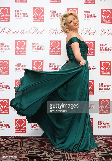 Natalie Coyle attends the British Heart Foundations Roll Out The Red Ball at Park Lane Hotel on February 10 2015 in London England