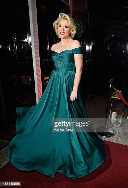 Natalie Coyle attends the British Heart Foundation's Roll Out The Red Ball at Park Lane Hotel on February 10 2015 in London England