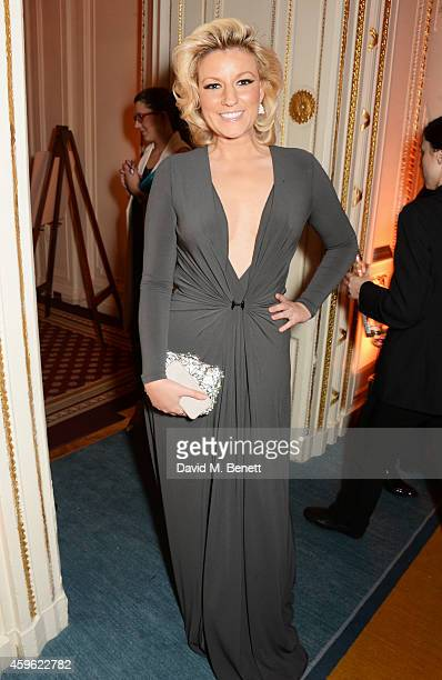Natalie Coyle attends the Louis Dundas Centre Dinner at the Mandarin Oriental Hyde Park on November 26 2014 in London England