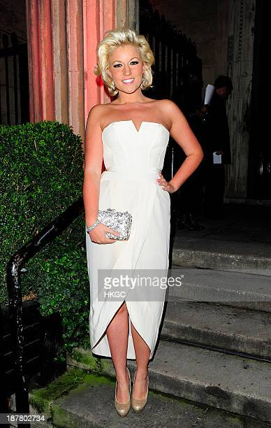 Natalie Coyle attends the Tunnel of Love fundraiser in aid of the British Heart Foundation at One Mayfair on November 12 2013 in London England