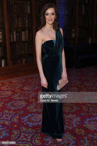 Natalie Cutler attends The Writers' Guild Awards 2018 held at Royal College Of Physicians on January 15 2018 in London England