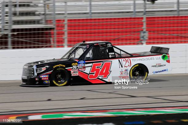 Natalie Decker DGRCrosley Toyota Tundra N29 Technologies LLC during practice for the Ultimate Tailgating 200 NASCAR Gander Outdoors Truck Series race...