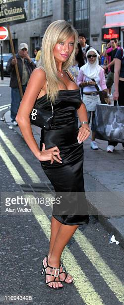 Natalie Denning during The Business VIP screening at Rex Cinema and Bar in London Great Britain