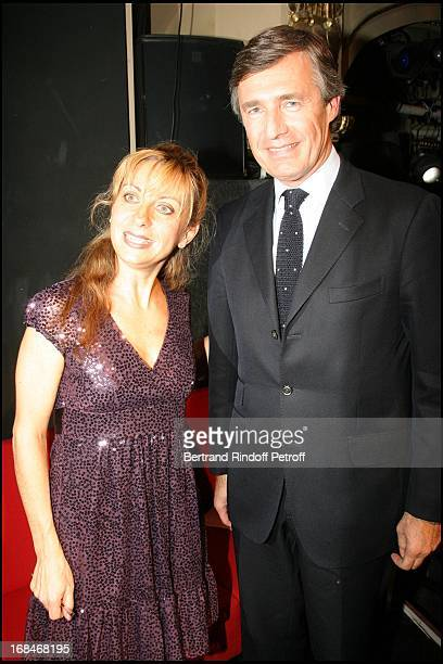 Natalie Dessay and Nicolas Beytout at Radio Classique Celebrates The Elections De L' Opera 2008 At Theatre Mogador In Paris