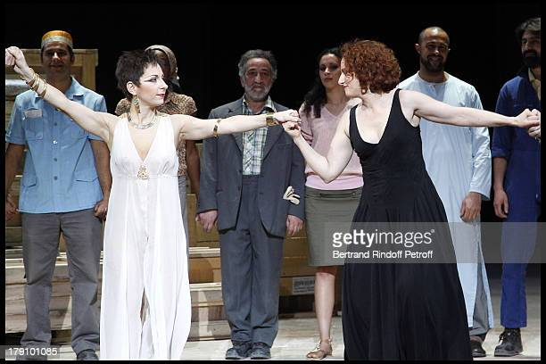 Natalie Dessay Emmanuelle Haim at The L'Arop Gala Evening Featuring A Performance From The Handel Opera Giulio Cesare At The Palais Garnier In Paris